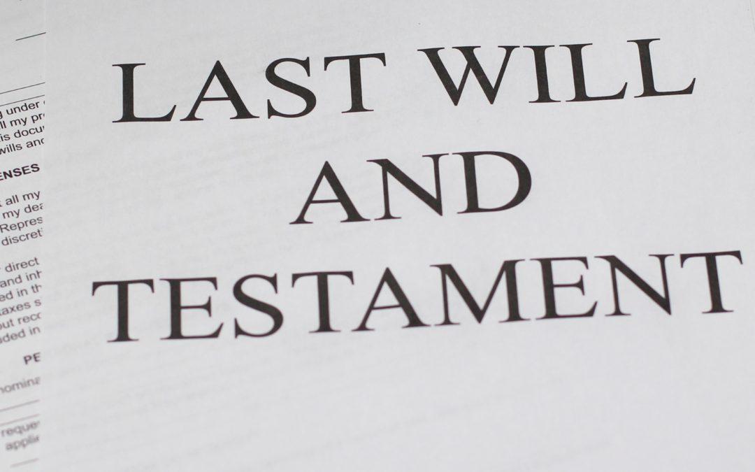 Introducere în studiul testamentului